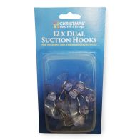See more information about the 12 Dual Suction Hooks 32mm