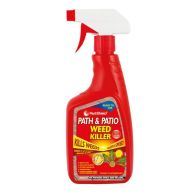 See more information about the Pestshield Path & Patio Weed Killer 500ml Trigger Spray Bottle