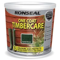 See more information about the Ronseal One Coat Timbercare 5 Litre - Forest Green