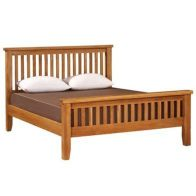 See more information about the Cotswold Oak 5ft High End Bed