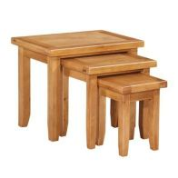 See more information about the Cotswold Oak Nest of Tables