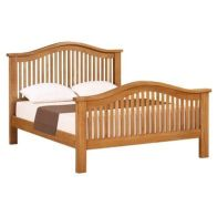 See more information about the Cotswold Oak 5ft Curved Bed