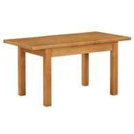See more information about the Holkham Oak Extending Dining Table Medium (1.2m - 1.55m) Cotswold