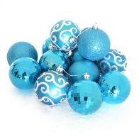 See more information about the 35 Pack Christmas Tree Baubles 6cm Blue
