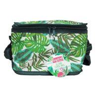 Tropical Fresh 6 Can Cooler Bag - Leaf Design