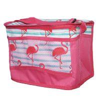 Tropical Fresh Beach Picnic Cooler Bag 10 Litre - Flamingo Design