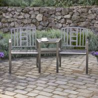 See more information about the Hartlebury Duo Garden Bench & Table
