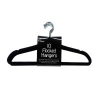 10 Pack of Hangers - Black