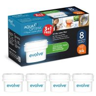 See more information about the Aqua Optima Evolve 60 Day Water Filter 4 Pack (3+1 FREE)