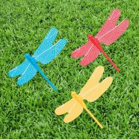 See more information about the Bright Garden Fluttering Solar Dragonfly (Blue)