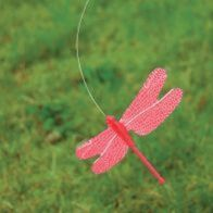 See more information about the Bright Garden Fluttering Solar Dragonfly (Red)