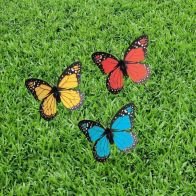 See more information about the Bright Garden Fluttering Solar Butterfly (Yellow)