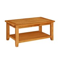 See more information about the Cotswold Oak Coffee Table Holkham (Mini Cotswold)