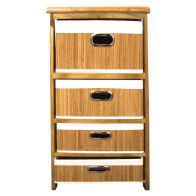 See more information about the 4 Bamboo Drawer Unit