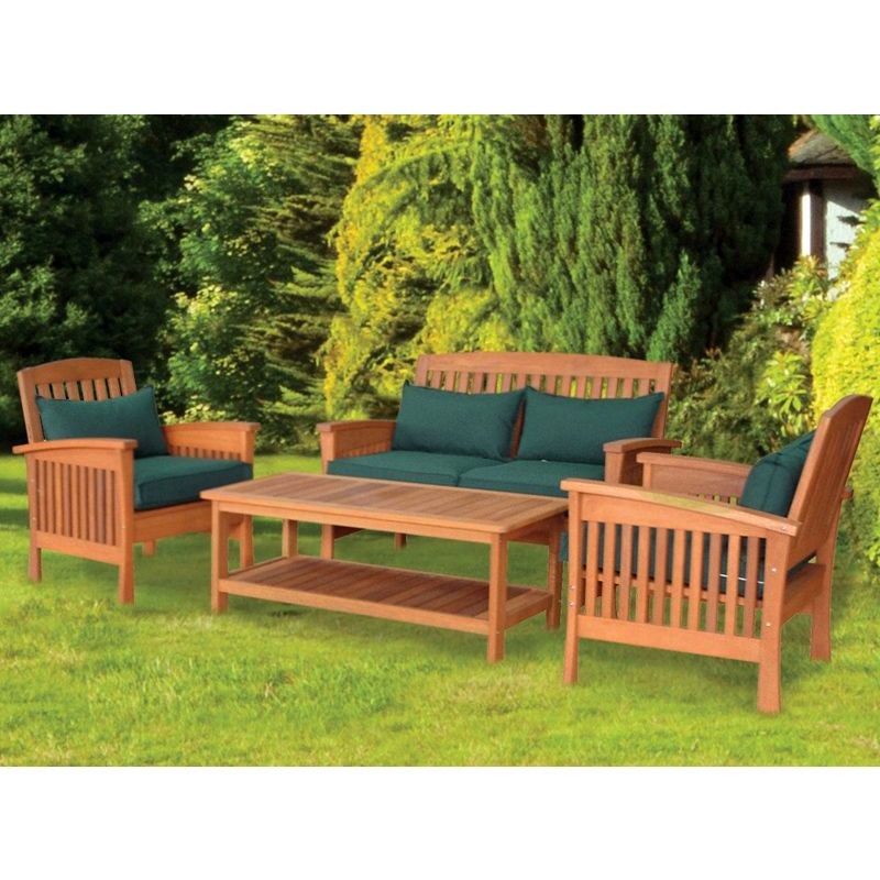 Buy darwin 4 piece table chair garden set online at for Outdoor furniture darwin