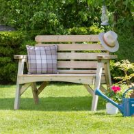 See more information about the Abbey 2 Seater Garden Bench