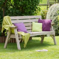 See more information about the Abbey 3 Seater Garden Bench