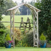 See more information about the Rustic Garden Arch