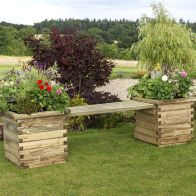 See more information about the Isabel Garden Planter Bench