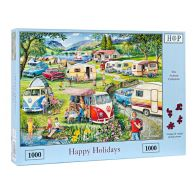 See more information about the House Of Puzzles Jigsaw Happy Holidays 1000 Pieces