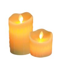 See more information about the Your Home Warm Glow Flameless Candles