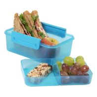 See more information about the Polar Gear Turquoise Clic Tite 1100ml Double Decker Lunchbox