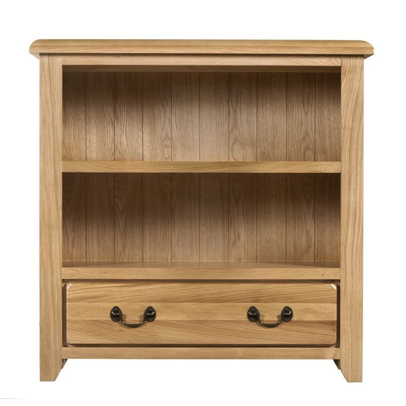 Buy Oakham Oak Bookcase 90cm Online At Cherry Lane