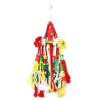See more information about the Happy Pet Parrot Toy Rope 'n' Tumble