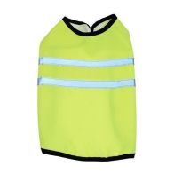 Happy Pet Gear Yellow Hi Vis Dog Jacket (Size 12)