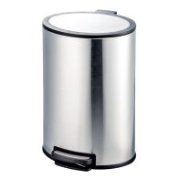 See more information about the Stainless Steel Oval Pedal Bin (40 Litre)