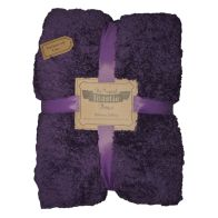 See more information about the Original Toastie 200 x 250cm Purple Throw