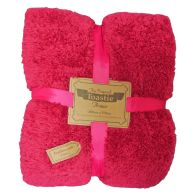 See more information about the Original Toastie 200 x 250cm Pink Throw