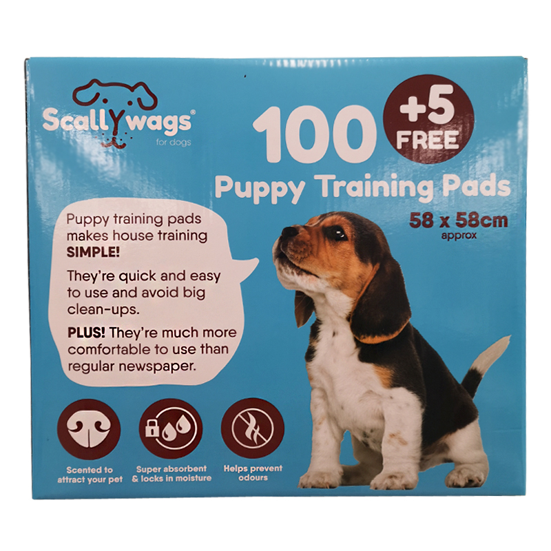 Buy Puppy Training Pad 100 Pack + 5 Free - Online at Cherry Lane
