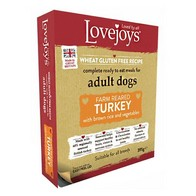 See more information about the Lovejoys Turkey & Rice Wet Dog Food 395g