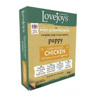 See more information about the Lovejoys Chicken & Rice Wet Puppy Food 395g