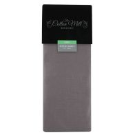 See more information about the Cotton Mill Heather King Poly Cotton Fitted Sheet