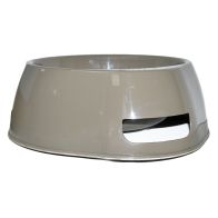See more information about the Happy Pet Large Round Non Slip Pet Bowl - Brown