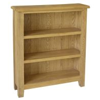 See more information about the Kansas Oak Low Bookcase Furniture