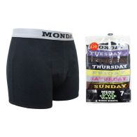 See more information about the 7 Pack Mens Days Of The Week Boxer Shorts - Small