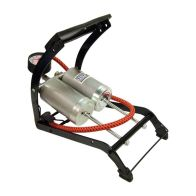 See more information about the Streetwize Deluxe Quality Twin Cylinder Foot Pump (270g)