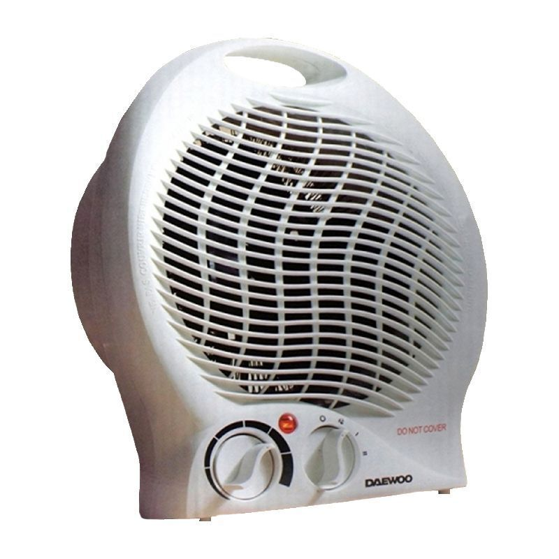 Daewoo Upright 2000 Watt Fan Heater