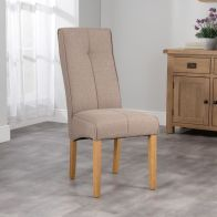 See more information about the Milan Dining Chair Brown
