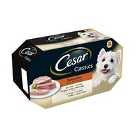 See more information about the Cesar Classics Selection Dog Food Trays 4 Pack