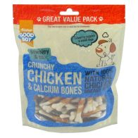 350g Good Boy Pawsley & Co. Crunchy Chicken & Calcium Bones