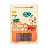 See more information about the Good Boy Chewy Venison Steaks 80g