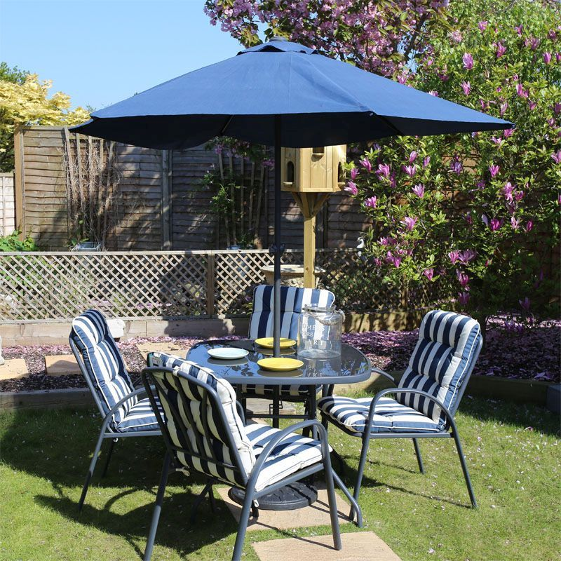 Buy 6 Piece Garden Furniture Dining Set Fulshaw Online At Cherry Lane