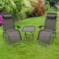 See more information about the Croft Tolverne 3 Piece Gravity Recliner Set
