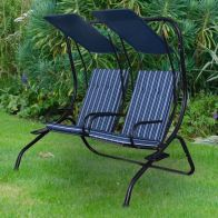 See more information about the Blenheim Two Seater Swing Garden Chair