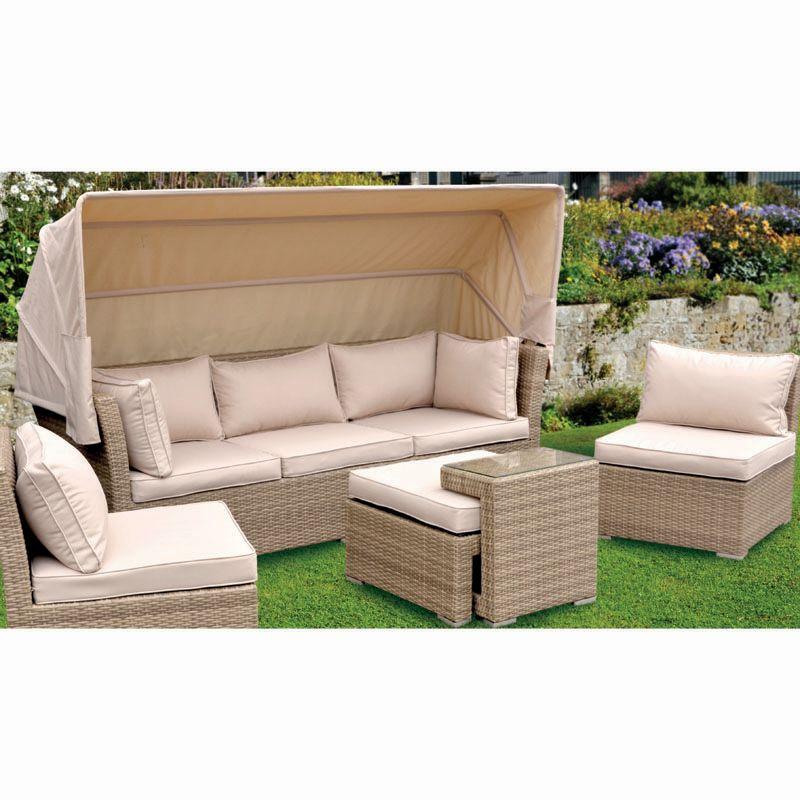 Buy Astley 5 Piece Luxury Rattan Garden Furniture