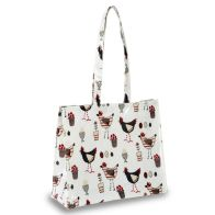 See more information about the Cooksmart Shopping Shoulder Bag Chicken